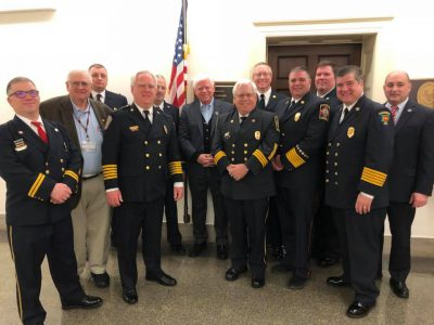 CT Fire Service Leaders in Washington, DC at the Congressional Fire Service Institute and visited CTs Congressional Leaders and their Staffers at the Hill.